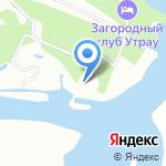 Чайка на карте Октябрьского