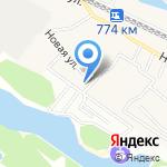 Белочка на карте Октябрьского
