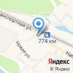 700 вёрст на карте Октябрьского