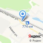 Любава на карте Октябрьского