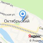 Сбербанк на карте Октябрьского