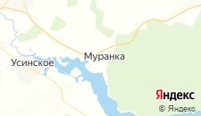 Отели города Муранка на карте