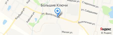 Почтовое отделение №524 на карте Больших Ключей