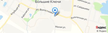 Детский сад №28 на карте Больших Ключей