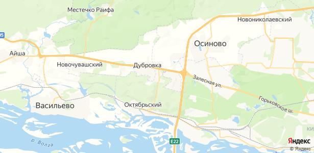 Ореховка на карте