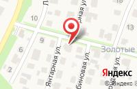 Схема проезда до компании Коттеджные поселки в Ореховке