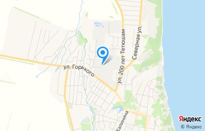 Местоположение на карте пункта техосмотра по адресу Респ Татарстан, г Тетюши, ул Полевая, д 14