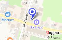 Схема проезда до компании ПРОДУКТОВЫЙ МАГАЗИН БЕРЕЗКА в Тетюшах