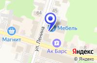 Схема проезда до компании ПРОДУКТОВЫЙ МАГАЗИН ДУСЛЫК в Тетюшах