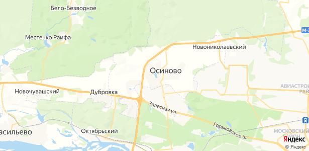 Осиново на карте