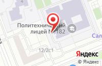 Схема проезда до компании Строящиеся объекты в Осиново