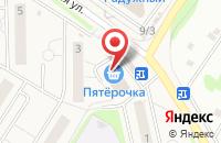 Схема проезда до компании Qiwi в Осиново