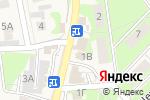Схема проезда до компании Ивушка в Осиново