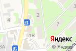 Схема проезда до компании Стандарт в Осиново