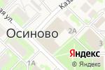 Схема проезда до компании Таттехмедфарм в Осиново