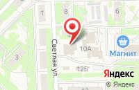 Схема проезда до компании Пятерочка+ в Осиново