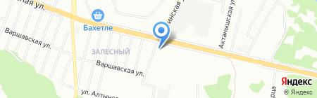 На Залесной на карте Казани