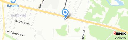 Хан на карте Казани