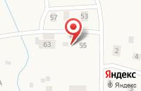 Схема проезда до компании Гостевой дом на Центральной в Ивановском