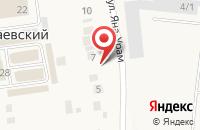 Схема проезда до компании Брикет в Новониколаевском