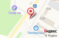 Схема проезда до компании Нотариус Садретдинова Л.Э. в Верхнем Услоне