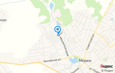 Местоположение на карте пункта техосмотра по адресу Респ Марий Эл, пгт Морки, ул Механизаторов, д 23В, пом 5