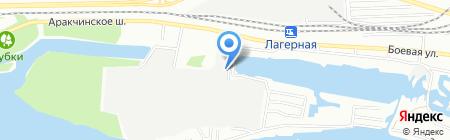 Архитек на карте Казани