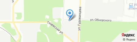 Управление механизации №4 на карте Казани