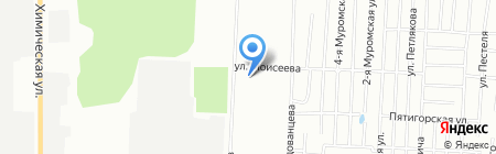 Магнит на карте Казани
