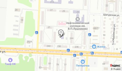 Детский сад №403 Мишутка. Схема проезда в Казани