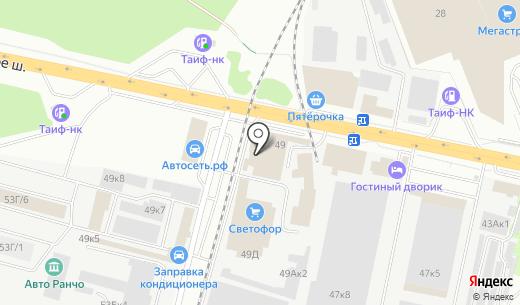 Универсал-Спецтехника. Схема проезда в Казани