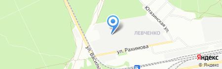 Белкони на карте Казани