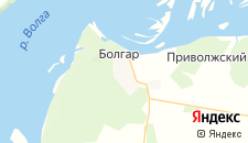 Гостиницы города Болгар на карте