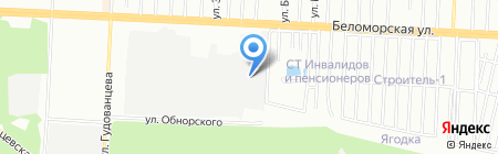 ИнтехКранСервис на карте Казани