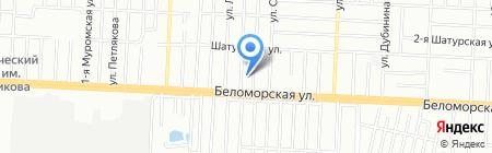 Хлебзавод №2 на карте Казани