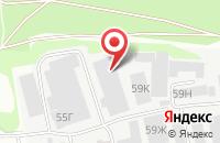 Схема проезда до компании Радмир в Казани