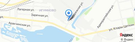 Ватан на карте Казани
