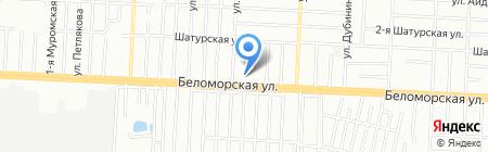 Средняя общеобразовательная русско-татарская школа №115 на карте Казани
