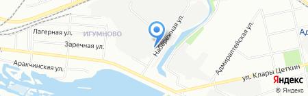Стан на карте Казани
