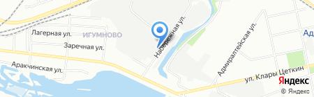 СТ ТРИУМФ на карте Казани