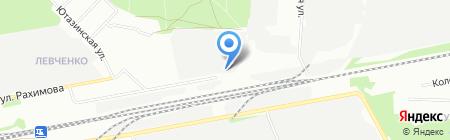Ясные Зори-Казань на карте Казани