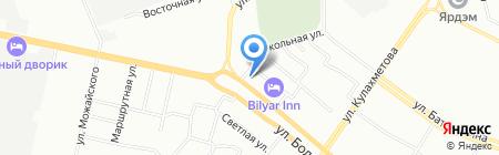 Армада на карте Казани