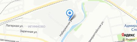 Неон-Арт на карте Казани