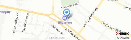 Банкомат ИК Банк на карте Казани