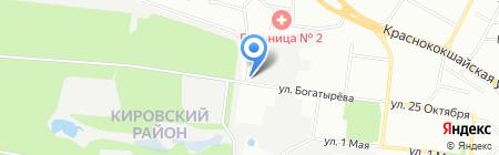 Селтик-Рус на карте Казани