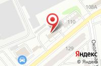 Схема проезда до компании Зодчий в Казани