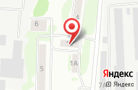 Схема проезда до компании Тамас в Казани