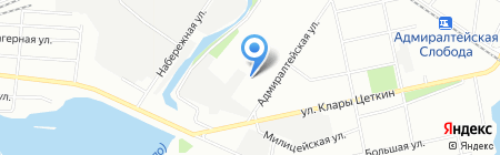Эвентус на карте Казани