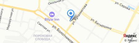 Банкомат КБЭР Банк Казани на карте Казани