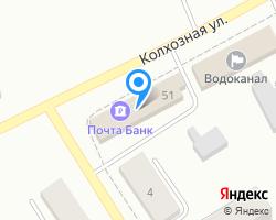Схема местоположения почтового отделения 612080